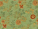 Landhaus Möbelstoff Ellmau Farbe 71 (grün, hellgrün,