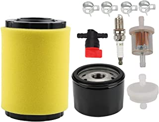 Mckin 796031 594201 Air Filter + 492932 492932S Oil Filter + 394358s 394358 691035 Fuel Filter for Briggs and Stratton 591334 797704 696854 698183 491055S 491055 310000 Engines