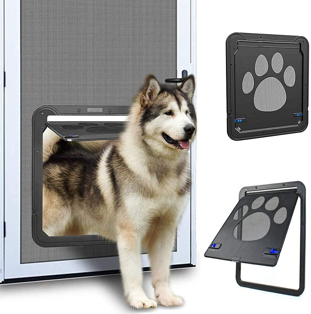 SEAL limited product SLDPET Cat Dog Screen Door Branded goods for Doggie Exteri Sliding