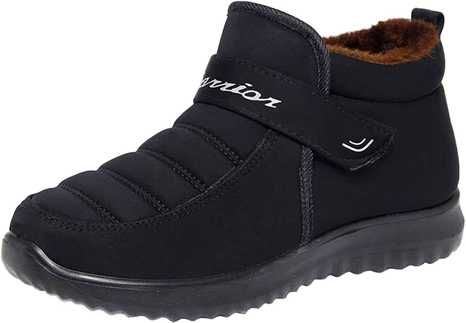 USYFAKGH Cowgirl Boots Women's Shoes Winter Round Toe Outdoor Wa