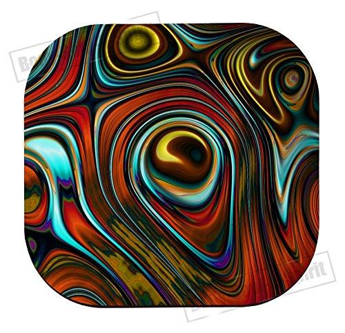 Abstract verf kleur beste gift coaster Tableware beker houder MDF Houten placemat