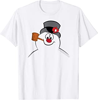 Image of Cheerful Classic Frosty the Snowman Shirt for Children and Adults