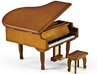 MusicBoxAttic - Réplica en Miniatura de un Gran Piano para bebé con Banco, 389. Tiny Bubbles (Lpobber/Don Ho)