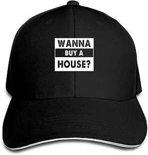 wanna buy a house hat