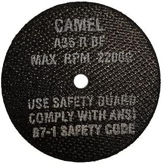 CGW Abrasive Mfg USA (CGW35509) Type 1, Aluminum Oxide Cutoff Wheels for Die Grinder / Mandrel 4X1/16X3/8 T1 A36-R-BF