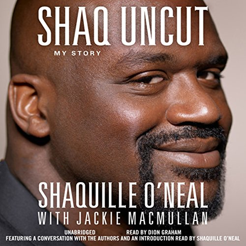Shaq Uncut audiobook cover art