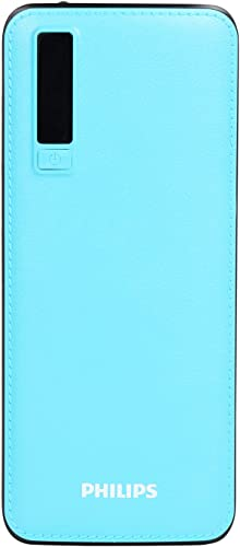 Philips DLP6006U 11000Mah Power Bank Fast Charging 10 W Brown Lithium Ion Blue