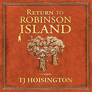 Return to Robinson Island audiobook cover art