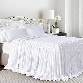 split corner bedspread queen