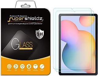 (2 حزمة) واقي شاشة Supershieldz لهاتف Samsung Galaxy (Tab S6 Lite) مقاس 10.4 بوصة، (زجاج محسّن) مضاد للخدش، خالٍ من الفقاعات