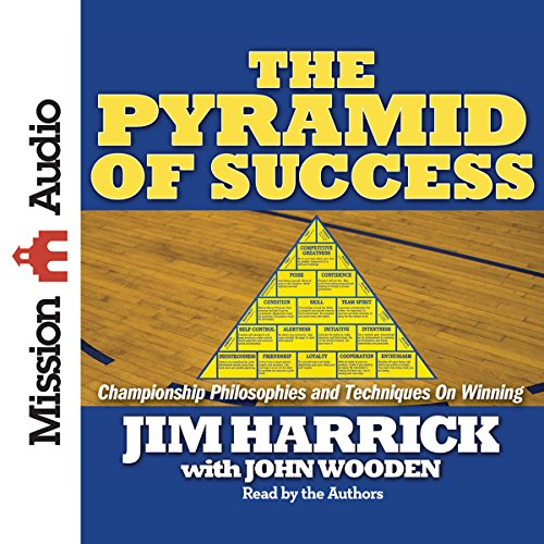 The Pyramid of Success audiobook cover art