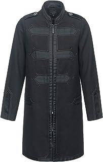 Vive Maria Chic Classic Coat Donna Cappotto in stile militare nero