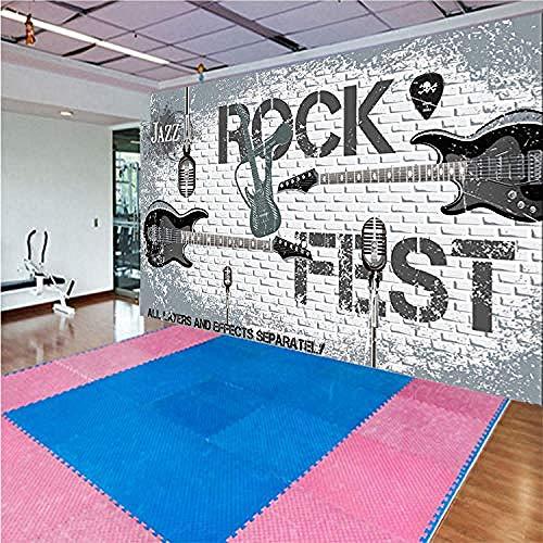 Großes Wandbild Europäisches dreidimensionales 3D-Werkzeug Hintergrund Hintergrundpapier Englisches Alphabet Latein Wanddekoration fototapete 3d Tapete effekt Vlies wandbild Schlafzimmer-200cm×140cm