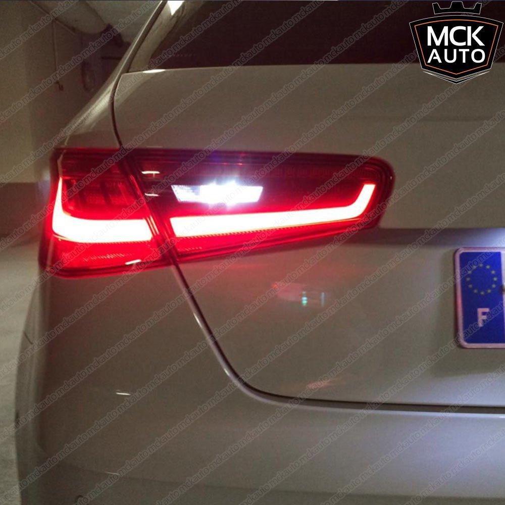 MCK Auto Reemplazo para PW24W LED CanBus Juego de bombillas blancas muy claras y sin erros CC F30