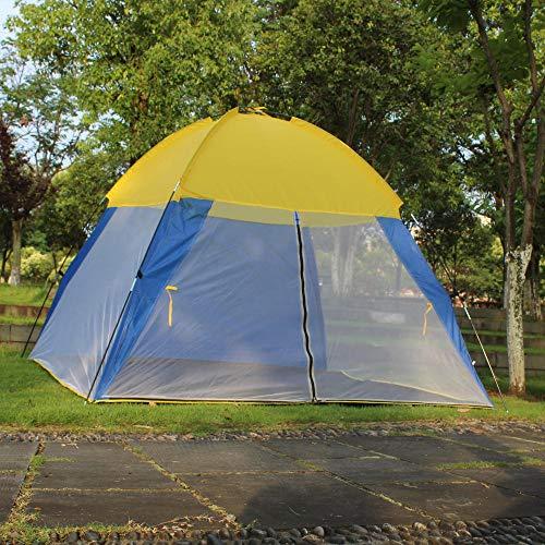 Carpa Acampada Ventilada Impermeable portátil丨Playa丨Parque丨Anti-UV丨VacacionesTienda de campaña Malla Malla Anti-Mosquito Tres Lados Transpirable