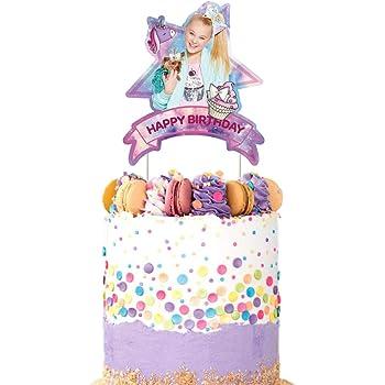 Jo jo Siwa Cake Topper Jojo Toppers Cupcake Decoraciones Con Globos suministros