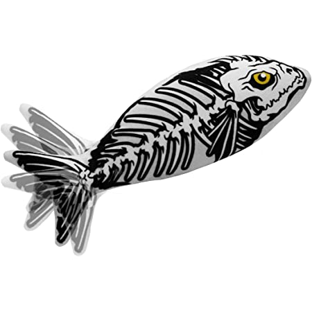 Yidarton Cat Boy Halloween Toy Catnip Fish USB-Chargeable Lifetime Replacement Guarantee Floppy Fish Interactive Pet Gifts Halloween Dancing Fish Toy for Cats & Small Dogs