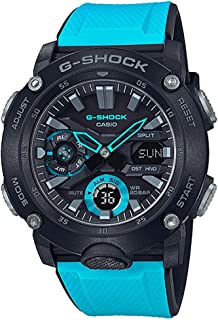 GA2000-1A2 G-Shock Men's Watch Blue/Black 51.2mm Carbon/Resin