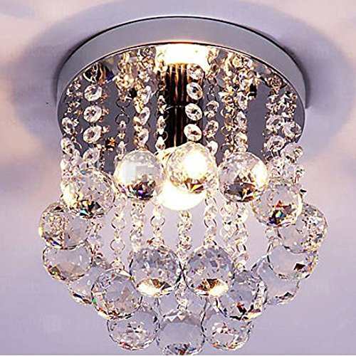 Dellemade Mini Stil Kristall kronleuchter Modern Deckenleuchte Für Treppenhaus, Bar, Küche, Esszimmer, Kinderzimmer