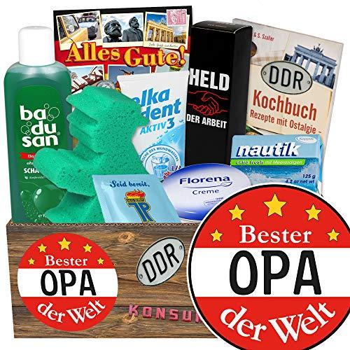 Bester Opa / Geschenke Geburtstag / Pflegeset der DDR