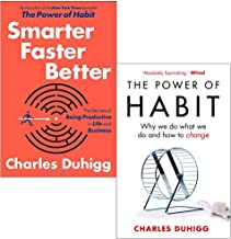 Charles Duhigg Collection 2 Books Set ([Hardcover] Smarter Faster Better, The Power of Habit: Why We Do What We Do, and Ho...