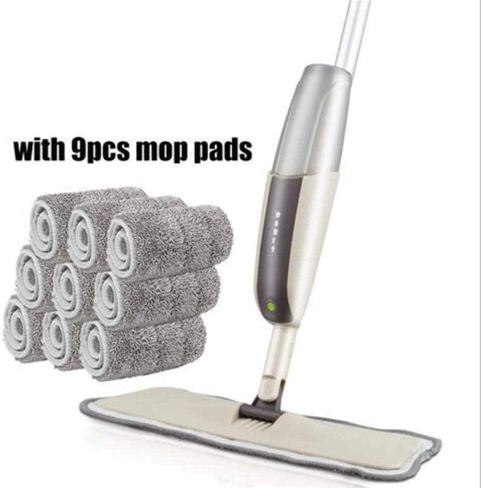 Spray Floor Mop with Pads Soldering safety Reusable Microfiber