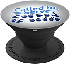 ASL Called to Serve LDS Missionary Sign Language - PopSockets Grip and Stand for Phones and Tablets