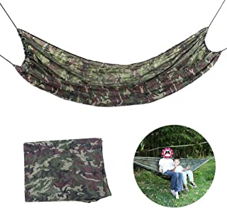 Sponsored Ad – Camping Hammock, Professional Manufacture Polyurethane Fiber Double Hammock, for Camping Campers Outdoor Ba...