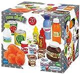 Jouets Ecoiffier – 2644 - Pack Drive 100 % Chef – Imitations d'aliments pour enfants – 20 pièces – Dès 18 mois – Fabriqué en France