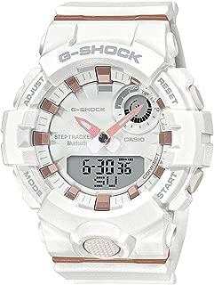 Casio G-Shock G-Squad White & Rose Gold Bluetooth Midsize Womens Watch GMAB800-7A