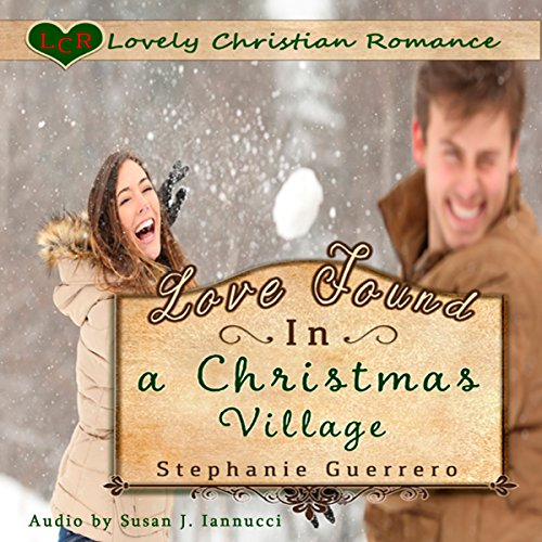Love Found in a Christmas Village audiobook cover art