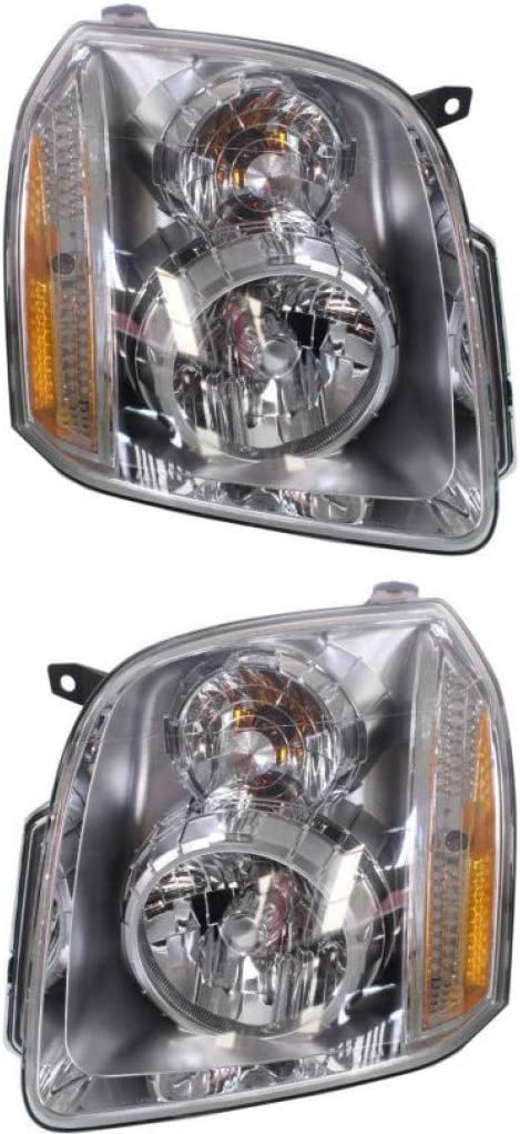 For GMC Yukon Limited time sale XL Ranking TOP16 1500 Headlight 2007-2014 Driver Assembly