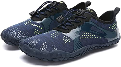 Hommes Femmes Chaussures Nautiques à séchage Rapide Plage Adulte Swim Barefoot Légères Chaussures Barefoot (Couleuré   As shown4, Taille   EU 40)