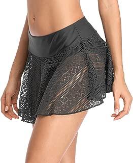 BeautyIn Women's Retro High Waisted Bikini Bottoms Swim Briefs Swimsuit Shorts