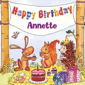 Happy Birthday Annette