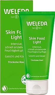 WELEDA Skin Food Light Feuchtigkeitscreme, Naturkosmetik für Gesicht & Körper, intensiv beruhigend und feuchtigkeitsspendend, Hautcreme für trockene Haut 1 x 75 ml