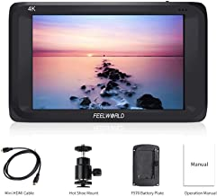 Feelworld S450-M 4.5 Inch IPS 4K HDMI 3G-SDI On-camera Field Monitor 4.5