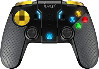 TOONEV Bluetooth Mobile Phone Joystick Multimedia Game Controller Compatible with Android iPhone iPod iPad