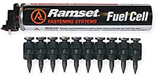 Ramset Powder Fastening Systems FPP034B 3/4-Inch Black Pins with Single Fuel Cell1000 Pack