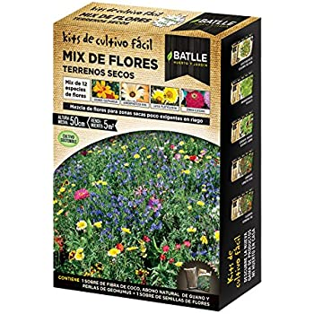 Huerto Urbano - Mix de flores Terrenos secos - Batlle: Amazon.es ...