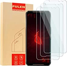 [3-Pack] PULEN for ASUS Rog Phone 3 Screen Protector,HD Clear Scratch Resistant Bubble Free Anti-Fingerprints 9H Hardness ...