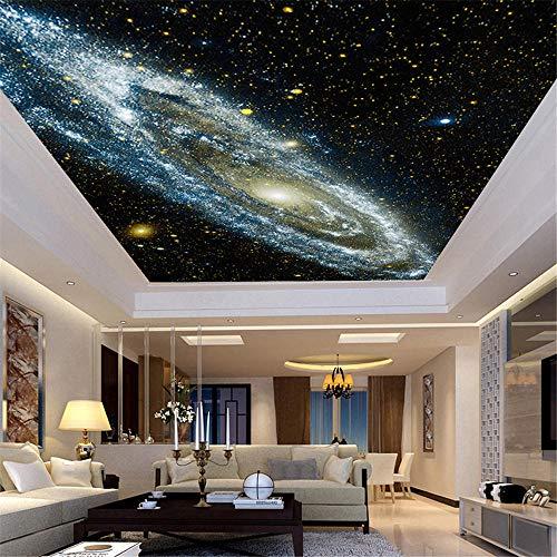 3d Tapete Fototapete Hintergrund-TapetenBenutzerdefinierte 3D-Wandbild Tapete in beliebiger Größe Galaxy Starry Nebula Ceiling Murals Wohnzimmer Sofa Schlafzimmer Hintergrund Wallpaper Painting-Abo