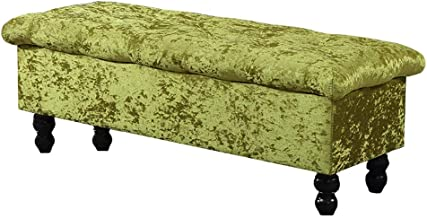 WY&XIAN Storage Ottoman Bench | Clothing Store Sofa Bench | Change Shoe Bench | Entrance Furniture Seat | Modern Fitting R...