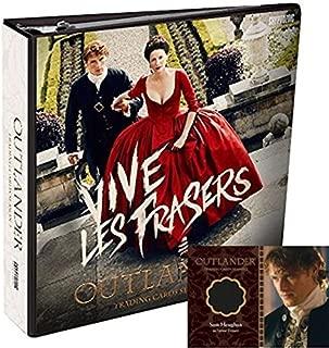 2017 Cryptozoic Outlander Season 2 Trading Cards Factory Sealed Binder With Sam Heughan as Jamie Fraser (Binder Exclusive) B1 Wardrobe Card