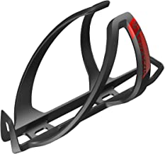 Syncros Coupe Cage 2.0 - Portabidón para Bicicleta, Color Negro y Rojo