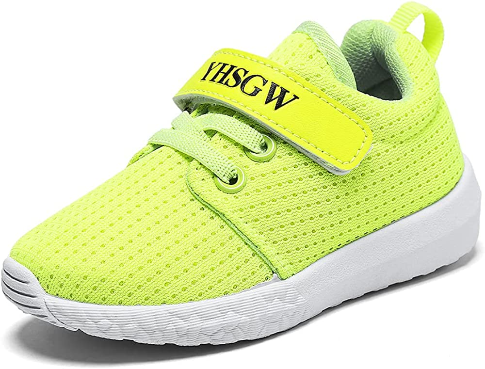 YHSGW Boys In a popularity Girls Sneakers Kids Walk Now free shipping Lightweight Breathable Strap