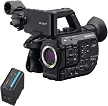 Sony PXW-FS5M2 4K XDCAM Compact Handheld Camcorder with Super 35 CMOS Sensor, Body Only BP-U70 72-Wh Lithium-Ion Battery