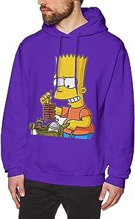Mens' Bart Simpson Classic Shirt – Simpsons Eat My Shorts Shirt - The Simpsons Graphic T-Shirt