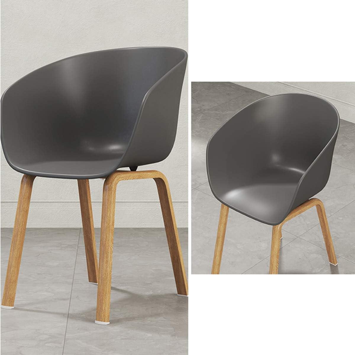 Chaise De Salle à Manger, Loisirs Maison Minimaliste Moderne Parler Mode Adulte Chaise en Plastique Accoudoir Dossier à Manger Chaise Chaise Noire Black White