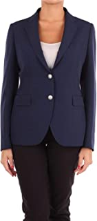 TAGLIATORE Luxury Fashion Womens JACK830006B1302 Blue Blazer | Season Outlet